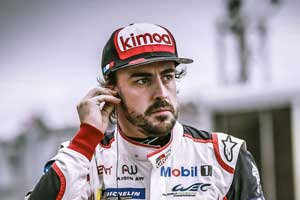 Fernando Alonso Diaz, the world's top 10 passing racer, tops the list!