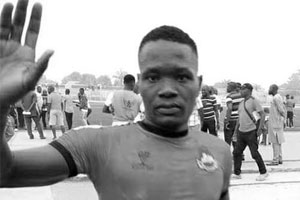 Nigerian league player dies after colliding with opponent in match