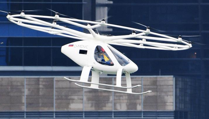 European Aviation Safety Agency: Air taxi may be put into use as early as 2024