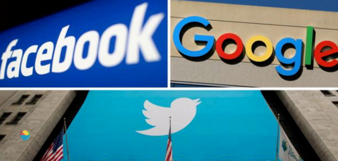 U.S. tech giants such as Google, Twitter, and Facebook threaten to withdraw from the Hong Kong market