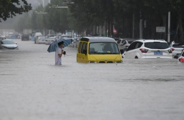 Frequent disasters, China's Zhengzhou suffered extreme floods