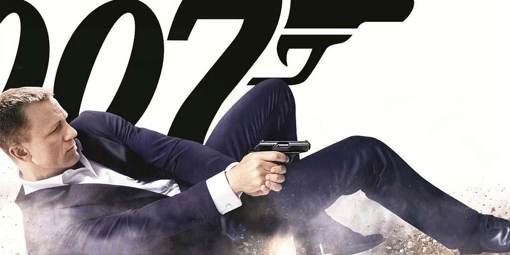 Série 007 à ce jour tous les films, James Bond modifiable!