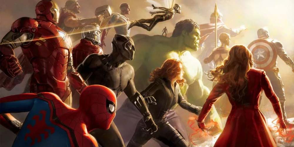 A complete list of all upcoming MARVEL movies!