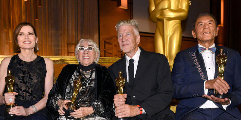 Director David Lynch receives the Academy Honorary Award!